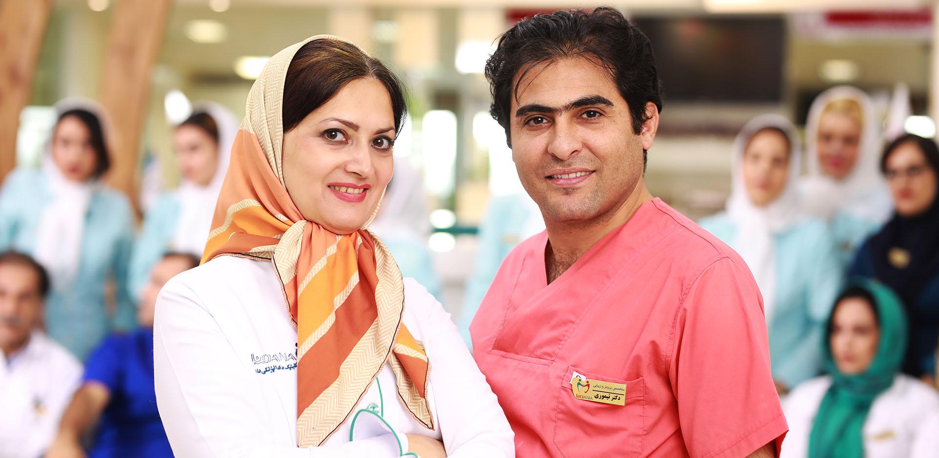 حضور موسسین کلینیک دندانپزشکی دانا در برنامه الا تی تی